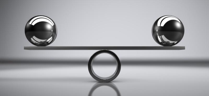Steel-balls-balanced
