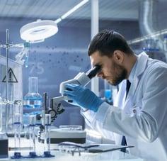 Laboratory-Technician-Microscope