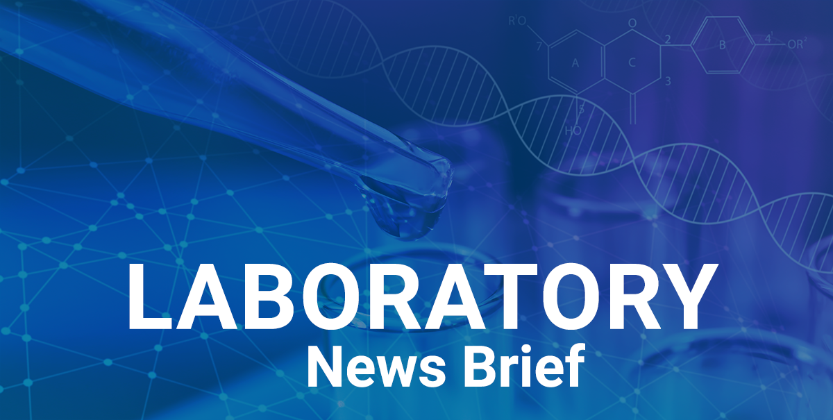 Laboratory News Brief - August 2020